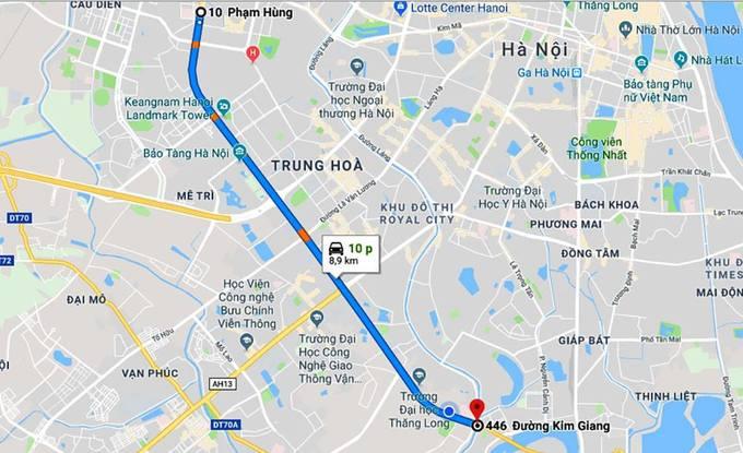 Hà Nội xén 8 km dải phân cách vành đai 3 để chống ùn tắc