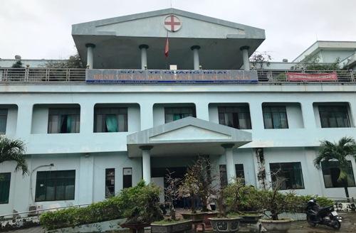 Bệnh viện Đa khoa TP Quảng Ngãi sau sáp nhập vào bệnh viện tỉnh. Ảnh: Phạm Linh.