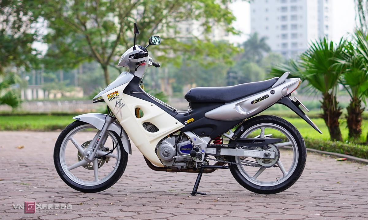Suzuki FX 125 'zin' của tay chơi Hà thành