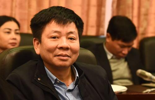 Vụ trưởng Tổ chức - Điều lệ Nguyễn Văn Tùng. Ảnh: Hoàng Thuỳ
