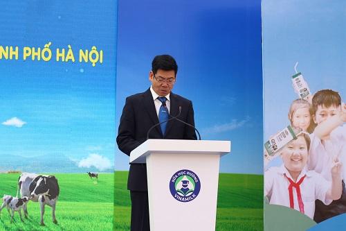 Ông Nguyễn Hồng Sinh - Giám đốc kinh doanh nội địa của Vinamilk.