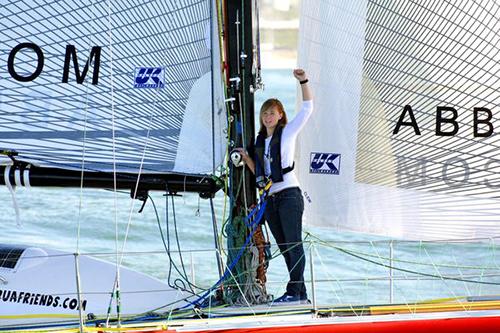 Sunderland trên con thuyền vào năm 2010. Ảnh: Lisa Gizara