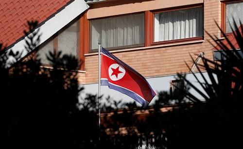 Đại sứ quán Triều Tiên ở Rome, Italy. Ảnh: Reuters.