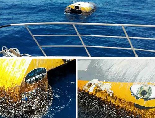 Con thuyền của Sunderlandđược một máy bay phát hiện ngoài khơi Australia
