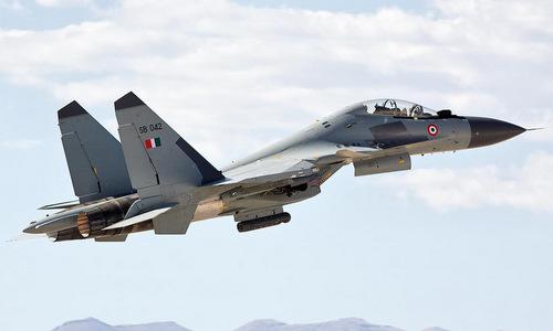 Tiêm kích Su-30MKI của không quân Ấn Độ. Ảnh: IAF.