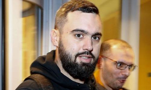 Eric Drouet, thủ lĩnh phong trào biểu tình Áo vàng ở Pháp. Ảnh: AFP.