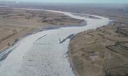 Hơn 817 km sông Hoàng Hà đóng băng trong đợt rét mạnh