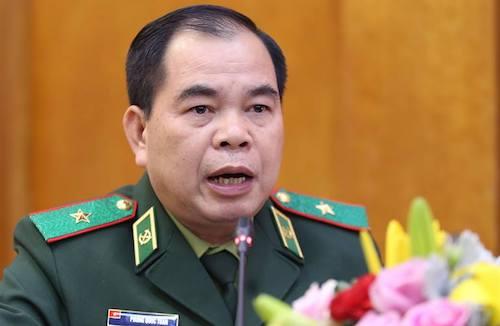Thiếu tướng Phùng Quốc Tuấn, Phó Chính uỷ bộ đội Biên phòng. Ảnh: Gia Chính