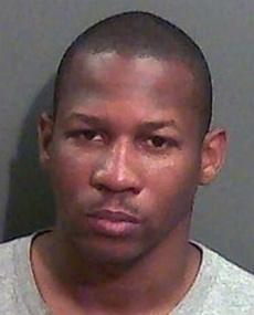 Nicholas Thrash khi bị bắt. Ảnh: Grant County Jail.