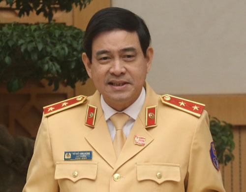 Trung tướng Đỗ Anh Dũng, Cục trưởng Cục CSGT. Ảnh: Bá Đô