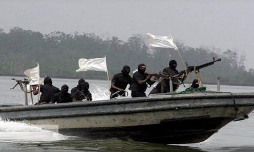 Một nhóm cướp biển ở Tây Phi. Ảnh: National Turk.