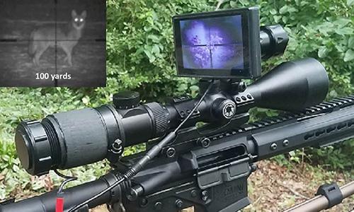 Kính ngắm ban đêm dành cho súng trường do Mỹ sản xuất. Ảnh: DFOV.