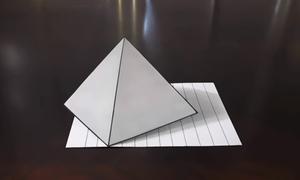 Vẽ kim tự tháp 3D trong vài phút