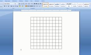 Hai cách tạo ô lưới trong Microsoft Word
