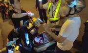 Lực lượng 363 truy đuổi người khả nghi ở Sài Gòn