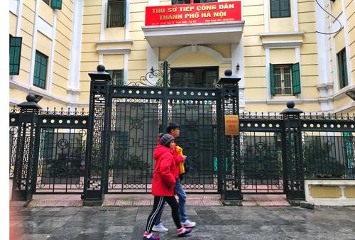 Trụ sở tiếp công dân củaTP Hà Nội. Ảnh: Giang Huy.