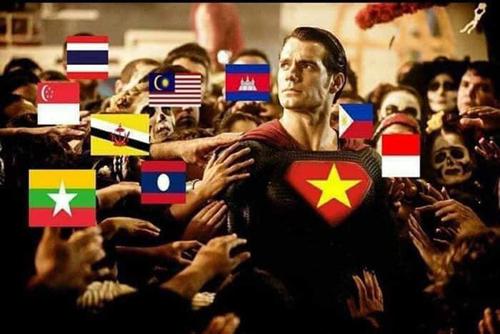 Sau hiệp 1, ĐTVN là niềm tự hào của khu vực Đông Nam Á.