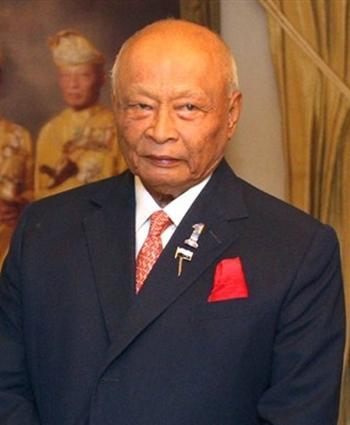 Ahmad Shah, Tiểu vương bang Pahang. Ảnh: NST.