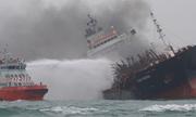 Hai thuyền viên Việt Nam mất tích sau vụ cháy tàu ở Hong Kong
