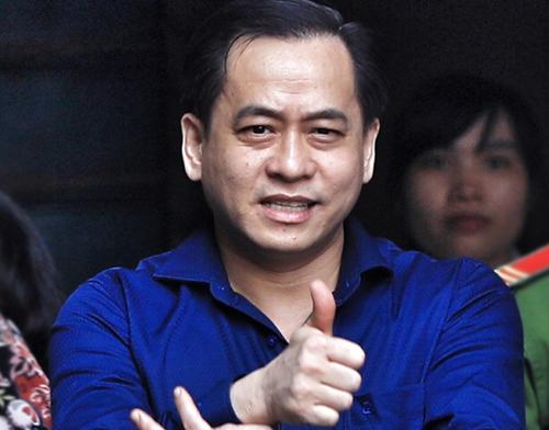 Vũ Nhôm hôm 20/12 bị TAND TP HCM tuyên phạt 17 năm tù. Ảnh: Hữu Khoa.