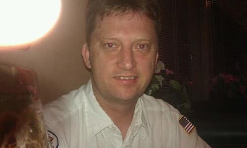 Michael R. White, cựu binh sĩ hải quân Mỹ, được cho là đang bị Iran bắt. Ảnh: Facebook.