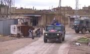 Quân cảnh Nga tuần tra ở thành phố chiến lược Syria giáp Thổ Nhĩ Kỳ