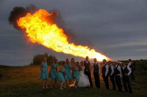 Bí kíp để có một bức ảnh cưới ấn tượng.
