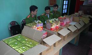 Hơn 200 kg pháo Trung Quốc nhập lậu vào Việt Nam