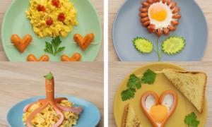 Cách làm bữa sáng với xúc xích giúp trẻ hứng thú