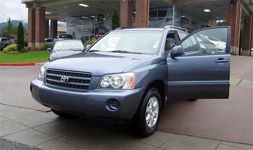 Highlander nằm trong số 10 mẫu Toyota trong danh sách và chiếm ngôi quán quân.