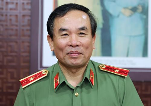 Thiếu tướng Vũ Xuân Viên - Giám đốc Công an Đà Nẵng lý giải lý do thành lập lực lượng 911. Ảnh: Nguyễn Đông.