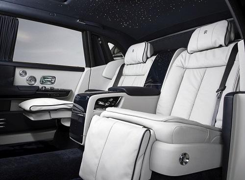 Nội thất Rolls-Royce Phantom.