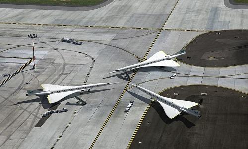 Máy bay Overtune có tiếng nổ siêu thanh nhỏ hơn nhiều so với Concorde. Ảnh: Boom.