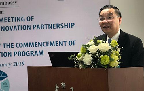 Bộ trưởng Chu Ngọc Anh phát biểu tại sự kiện. Ảnh: Bích Ngọc.