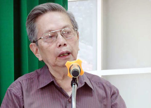GS Nguyễn Ngọc Giao. Ảnh: Hội Đông y TP HCM.