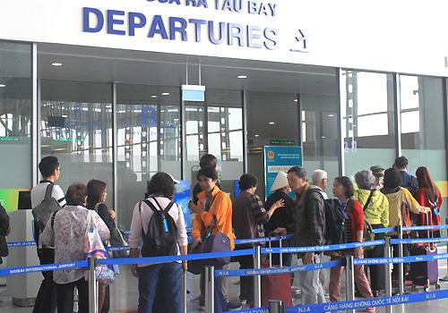 Sân bay Nội Bài (Hà Nội). Ảnh: Đoàn Loan