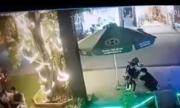 Xe máy báo động nhưng vẫn bị kẻ trộm bẻ khoá