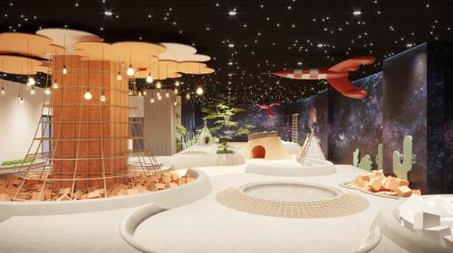 Không gian Vũ Trụ Bí Ẩn của trẻ tại Sakura Montessori Lương Yên