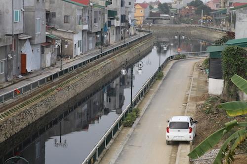 Một góc dự án hào thành cổ Vinh. Ảnh: Nguyễn Hải.