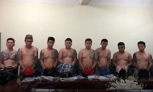 Băng giang hồ Vũ 'Bông hồng' bị bắt giữ