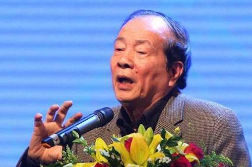 Nhà thơ Hữu Thỉnh, Chủ tịch Liên hiệp các hội Văn học nghệ thuật Việt Nam. Ảnh: VT.