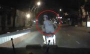 Tà i xế dằn mặt thanh niên ÃÃÂ¡nh võng chặn Ãầu ôtô