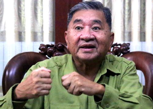 Thượng tướng Bùi Văn Huấn. Ảnh: Phước Tuấn.