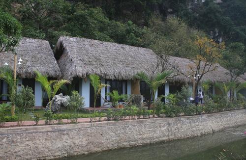 Nhà nghỉ trái phép trong vùng lõi di sản Tràng An.