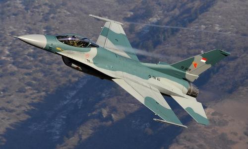 Tiêm kích F-16 trong biên chế không quân Indonesia.