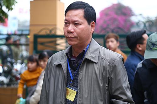Nguyên giám đốc Trương Quý Dương. Ảnh: Phạm Dự.