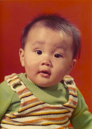 Arjen khi ba tháng tuổi. Ảnh: NVCC.