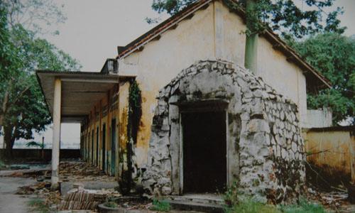 Cô nhi viện Good Shepherd ở tỉnh Vĩnh Long trong một bức ảnh cũ. Ảnh: NVCC.