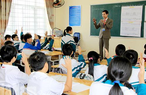 Hội thi giáo viên dạy giỏi THCS cấp tỉnh năm học 2018-2019 của tỉnh Hà Nam. Ảnh: Báo Hà Nam.