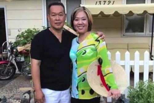 Tony Le và vợ My Huong Huynh Truong. Ảnh: CBS.